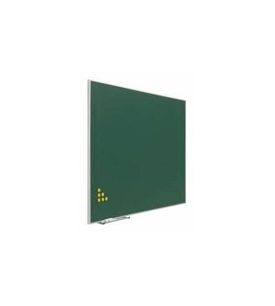 Pizarra verde con soporte