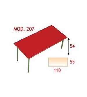 Mesa rectangular infantil