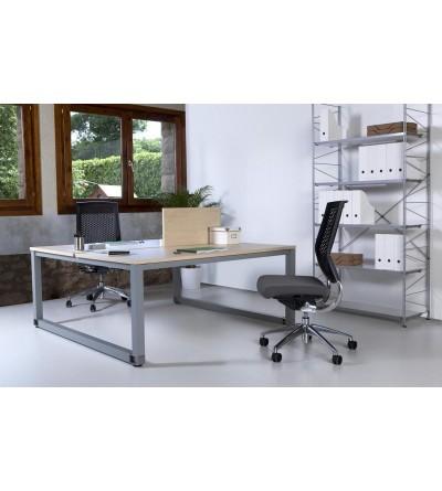 Mesas de oficina enfrentas 2 puestos de trabajo.