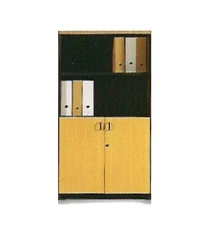 Mueble de oficina mediano con puertas pequeñas 148*80*40