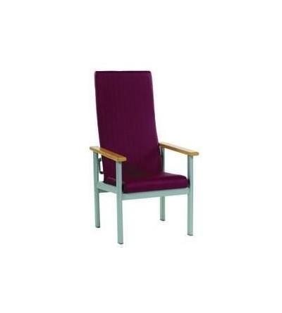 Sillón respaldo alto reclinable