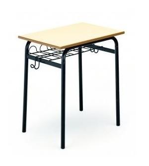 Mesa escolar con bandeja